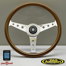 Nardi Steering Wheel ND CLASSIC WOOD Grain Polished Spokes 360mm 5061.36.3100