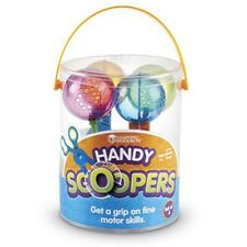 Learning Resources - Children's Handy Scoopers for Fine Motor Skills (set of 4)