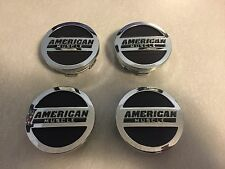 American Muscle center caps set of 4 Ford Mustang GT V6 Cobra Rousch 1994-2015