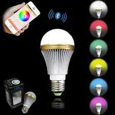 Intelligent LED Bluetooth Bulb Changing Color Romantic Lamp With Music Player