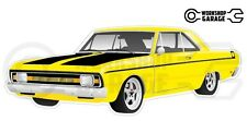 Chrysler Valiant VG Pacer Hemi 2Door - Yellow with Momos
