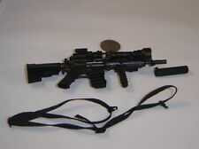 very hot cqb rifle 1/6 toys city Miniature toys ver 3 dam bbi gi joe weapon M4