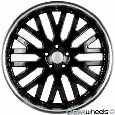 "20"" BLACK LIP WHEELS FITS LAND ROVER RANGE ROVER SPORT HSE SUPERCHARGED RIMS"