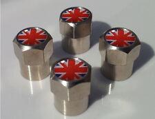 Funky Union Jack Aluminio neumático válvula Tapas De Aleación Para Llanta De Rueda