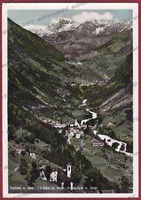 SONDRIO CHIESA IN VALMALENCO 34 TORRE PRIMOLO Cartolina FOTOGRAFICA