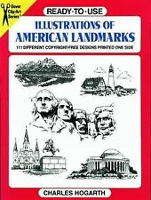 Ready-to-Use Illustrations of American Landmarks (Dover Clip Art Ready-to-Use)