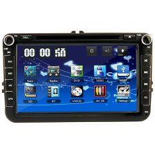 "for VW PASSAT Skoda MK5 Golf 8"" HD Car DVD Player Sat Nav GPS Stereo Radio UK"