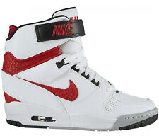 NIKE AIR REVOLUTION SKY HI WHITE/RED Gr.40,5 US 9 dunk sp 599410-106 lunarwavy