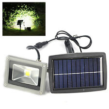 3000K 10W 1200mAh Solar Power LED Flood Night Light Garden Wireless Spotlight