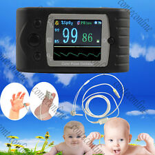 Neonatal Infant New Born Baby Hand-Held Pulse Oximeter w USB PC software CE FDA