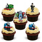 17 STAND UP Edible Thomas The Tank Engine Wafer/Rice Paper Cupcake Toppers