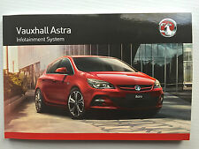 Vauxhall ASTRA J Hatch & Tourer CD 300 400 600 NAVI 950 650 AUDIO MANUAL BOOK