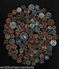 100 ALL DIFFERENT COUNTRY 10 SET UNC CURRENCY AFRICA ASIA EUROPE COIN COLLECTION