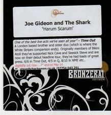 (BG887) Joe Gideon & The Shark, Harum Scarum - DJ CD