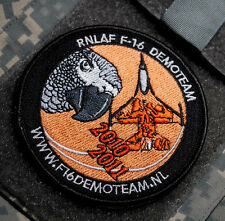NATO TIGER TEAM F-16 SWIRL COLLECTION RNLAF 2010-2011 DEMO TEAM vel©®Ø INSIGNIA