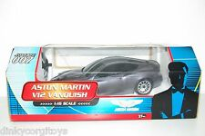 NIKKO 1/16 JAMES BOND ASTON MARTIN V12 VANQUISH 007 MINT BOXED RARE SELTEN RARO