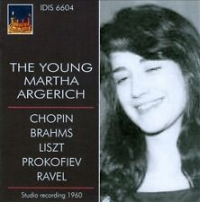 Young Martha Argerich, New Music