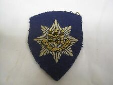 An Original Military WWII East Anglia Cloth  Badge