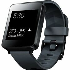 LG G Watch Android Wear Smart Watch - Genuine - Black Titan
