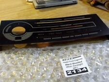 Heater control panel s/s trim, Mazda MX-5 mk1, black brushed stainless, JASS MX5