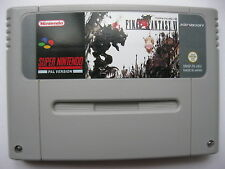 Final Fantasy VI 6 for Super Nintendo SNES PAL English