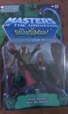 Modern He-Man Masters of the Universe Snakemen  Snake men King Hssss Hiss MOC