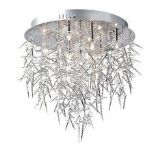 Deckenleuchte Deckenlampe Design dekorativ Kronleuchter Wohnzimmerlampe Behang