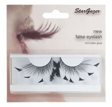 Stargazer False Feather Eyelashes #60 Black Angled Feathers