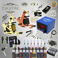 Complete Tattoo Kit Professional Inkstar 2 Machine Journeyman Set GUN TKI2C20