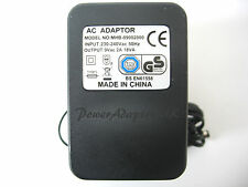 2A/2000MA 9V AC/AC OUTPUT MAINS POWER ADAPTOR/SUPPLY/CHARGER/TRANSFORMER