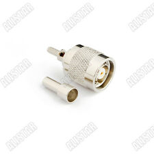 RP-TNC Crimp Plug male (Female Pin) connector for LMR100 RG316 RG174