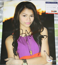 SHAKE IT UP Zendaya signed 11 x 14, Disney, Swag It Out, Replay, Proof, PSA/DNA