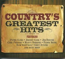 COUNTRY'S GREATEST HITS - 2 CD BOX SET - PATSY CLINE & MORE