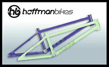 "Hoffman Bikes 20.5""/20.85"" BMX Mantra Frame Cromoly Purple or Keylime"