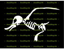 Duck Bones Skeleton - Outdoors - Hunting - Vinyl Die-Cut Peel N' Stick Decal