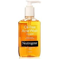 Neutrogena Oil-Free Acne Wash,Gel Based Facial Cleanser For Acne Prone Skin175ml