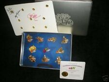 Ebay Live Boston 2007 Gold Pin Collection COA Signed Limited Edition 162/200