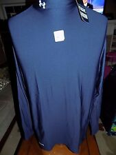 NWT Under Armour Men's ColdGear® Compression Mock Long Sleeve Shirt  3XL  $49.99