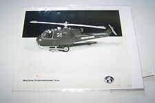 #1863 PHOTO NEGATIVE - 1960s TOYS - SKYLINE - US AIR FORCE HELICOPTER