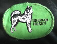 """SIBERIAN HUSKY EMBROIDERED SEW ON ONLY PATCH ~ DOG ~ BREED 4"""" x 3"""""""