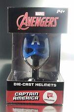 Marvel Captain America Die-Cast Metal Helmet Walgreens Exclusive *New*