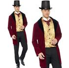 Mens Edwardian Gent Fancy Dress Costume Historical Male Outfit New by Smiffys