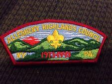 MINT CSP Allegheny Highlands Council SA-5 1973-1997