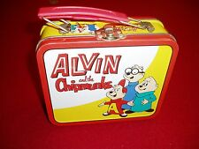 """ALVIN and the CHIPMUNKS mini metal LUNCH/SNACK  BOX"","