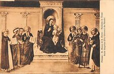BR70786 firenze r museo di s marco madonna in trono painting postcard     italy