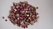 Swarovski Crystal Flatback Qty: 144 Fuchsia Elements 2028 Foiled 12ss DIY