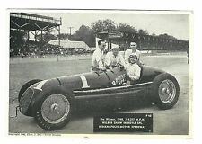 1946 Charles Bell Picture Tower Studios 1940 Indianapolis Speedway Winner SHAW