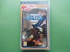 WARHAMMER 40 000 SQUAD COMMAND  ~ Sony PSP ~Complete~BEST4U~12+ THQ