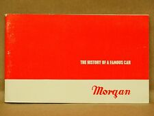 "Vintage ""The History of a Famous Car"" Morgan Automobile Book Three Wheeler"