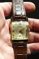 Vintage SOLID 18K GOLD Breitling Swiss Mechanical Men's Watch - RARE, NO RESERVE